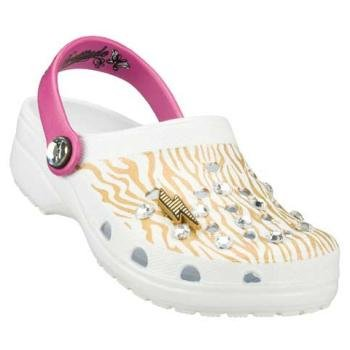 Bratz by Skechers Girl's Doodlebugs POP DIVAS Clogs, Sandals (US 4, White)
