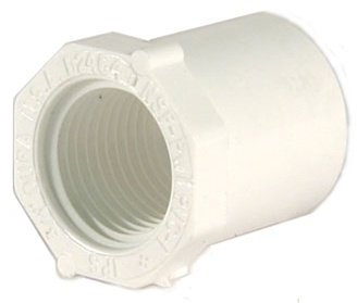 Dura Schedule 40 PVC Reducer Bushing 1-1/4