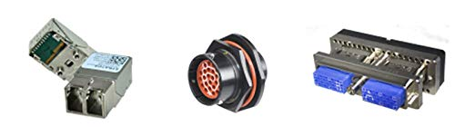 800-1800-2-SVT0-BL-00150 Cable Assembly AC Power 1.5m C14 to C13 3 to 3 POS M-F 18AWG 5 Items