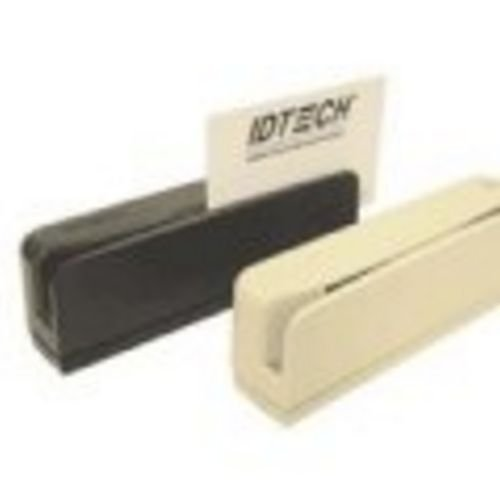 ID Technologies IDEA-335133 Easy Mag Magnetic Stripe Reader, 3 Track, USB (HID), Black by ID TECHNOLOGIES
