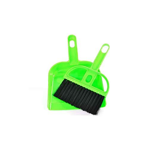 X-SPORT Keyboard Broom Dustpan Set Tiny Pet Waste Shovels Cleaner for Keyboard Car Animal Pet Waste ()