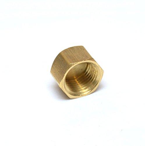 FasParts Brass Pipe Cap 1/2