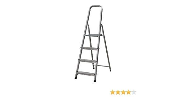 Cofan 09401032 - Escalera doméstica en 131 (4 peldaños): Amazon.es: Bricolaje y herramientas