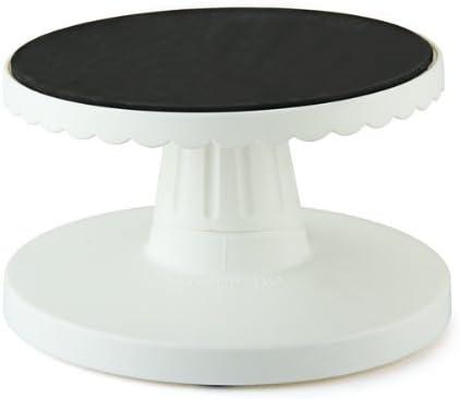 plataforma antideslizante Base giratoria de pl/ástico de 14 cm para decoraci/ón de tartas