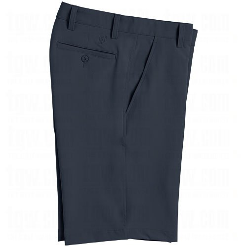 FootJoy NEW PERFORMANCE FLAT FRONT GOLF SHORTS NAVY 34