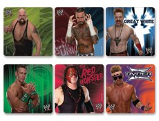 WWE Stickers 100 per roll by Trends International