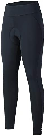 ANIVIVO Women Cycling Pants with Pockets,Up-Padding Bike Tight Pants for Women
