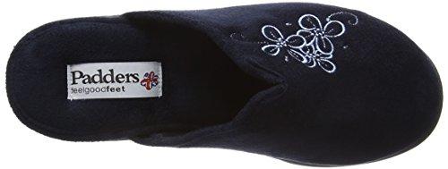 Padders Sable Damesslippers Navy