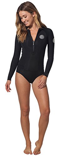 Rip Curl G-Bomb Long Sleeve Booty Spring Suit, Black, - Cut High Wetsuit