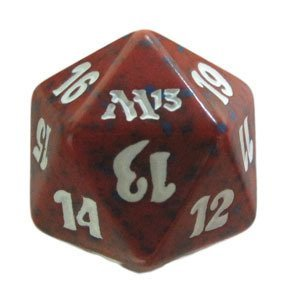 M13 Magic 2013 Red Magic MTG Spindown D20 Life Counter The Gathering