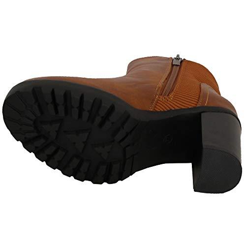 Signora Signora da Shoes Cammello Cammello Cammello N18170 Elegante CHC Stivali g8FBW1agT