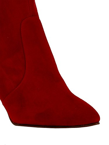 Rouge Stuart CLINGRED Weitzman Femme Suède Bottines Eqqtrg7nWx