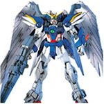 Bandai Hobby EW-01 Wing Gundam Zero Custom Endless Waltz 1/144 High Grade Fighting Action Kit - Gundam Wing Model Kits High Grade