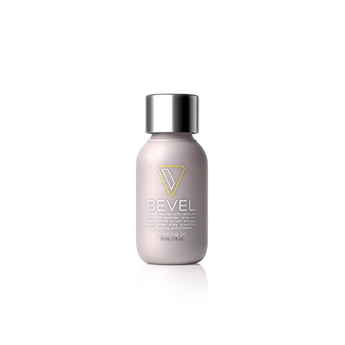 Bevel Priming Oil, with Castor Oil and Olive Oil, Helps Soften Hair and Protects Skin from Irritation, 1 fl oz