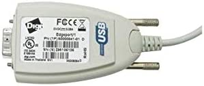 DIGI Edgeport//1 2-Meter Captive Cable 1P RS-232 serial DB-9 captive 2 meter cable 301-1001-15