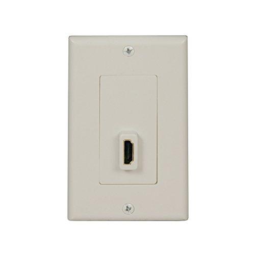 Tripp Lite HDMI Send/Receive Pass-through Wallplate (F/F) (P166-001-P) -