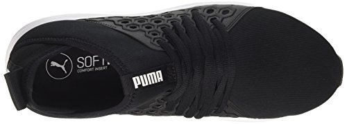 Black Nf Mujer de Puma Puma para Zapatillas Enzo quarry Mid Negro Cross Wn's White puma Pn5x4ZU85