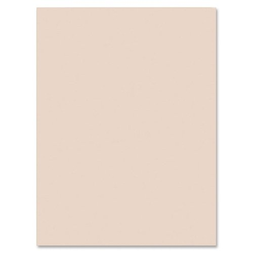 Wholesale CASE of 5 - Pacon Manila and White Tagboard Paper-Tagboard, Heavyweight, 24''x36'', 100SH/PK, Manila