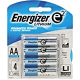 8 pcs Energizer Lithium AA 1.5V High Energy Lithium e2 Batteies