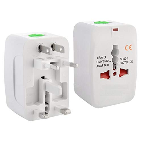 Technotech Universal All in One World Travel Adapter Surge Protector Charger Plug