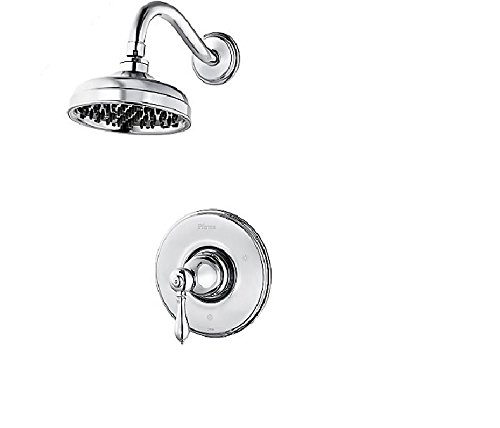 Pfister LG897MBC Marielle Single-Handle Shower Faucet Trim Kit in Polished Chrome (Valve Not Included)