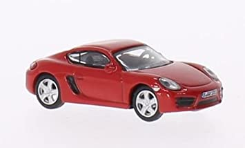 Neu Schuco 26109-1//87 Porsche Cayman S 981 - Rot