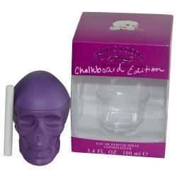 Ed Hardy Skulls and Roses Chalk Edition Eau de Parfum Spray for Women, 3.4 Fluid Ounce (Ed Hardy Skull And Roses Cologne)