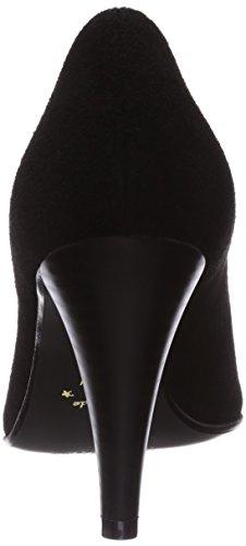 tacco Donna col Diavolezza Diavolezza Scarpe Schwarz Nero tacco Black Scarpe col Donna Nero CF8wwUnzq