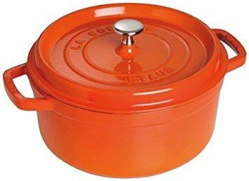 Staub Round Cocotte 3 Quart 8 5/8'' Orange