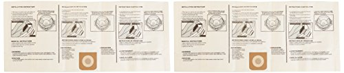 Craftsman 9-38750 High Efficiency Dust Filter Bag, 16/20 (High Efficiency Vacuum Filter Bags)