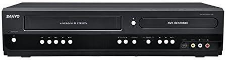 Sanyo Combinación VCR y Grabadora de DVD con 1080p HD (Reacondicionado Certificado): Amazon.es: Electrónica