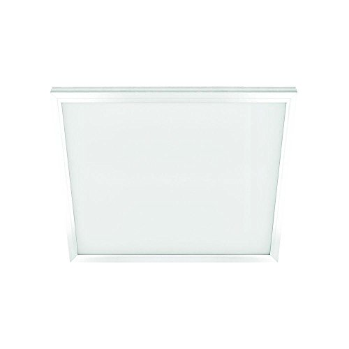 Commercial Electric 1 ft. x 1 ft. 10-Watt Dimmable White Integrated LED Edge-Lit Flat Panel Ceiling Flushmount with Color Changing CCT