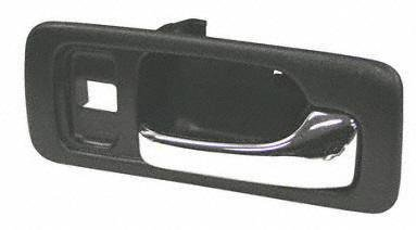 90-93 HONDA ACCORD FRONT DOOR HANDLE RH (PASSENGER SIDE), Inside, w/ Lock Hole, Black, Sedan, LX/EX Model (1990 90 1991 91 1992 92 1993 93) H462109 72125SM4003ZD - Auto Repuestos