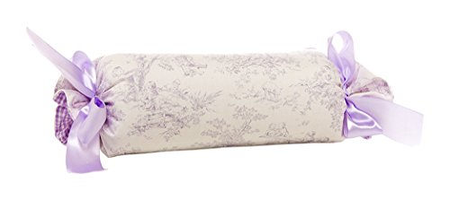 Glenna Jean Penelope Roll Pillow, Lavender/Mint/White