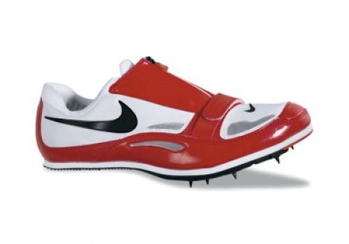 Nike Zoom Long Jump 3 Men's Track and Field Spikes (Medium / 14 D(M) US, White/Red)