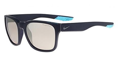c3013ed01d6c Amazon.com: Nike EV0875-001 Recover R Sunglasses (One Size), Matte Black/ Gunmetal, Smoke with Super Silver Flash Lens: Sports & Outdoors