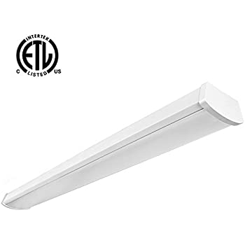 LED 40 Watt 4' Linear Wrap - Strip Fixture 4000K (Cool ...