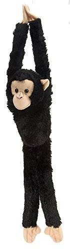 Wild Republic Chimpanzee Plush, Monkey Stuffed Animal, Plush Toy, Gifts for Kids, Hanging 20 Inches]()