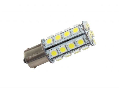 Grv Ba15s 1156 1141 High Power Car LED Bulb 30-5050SMD DC 12V Cool White Pack of 2 by GRV