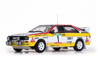 Sunstar – 4245 – Audi Quattro A2 – Winner Rallye Portugal 1984 – Maßstab 1 18 – Weiß Gelb Rot
