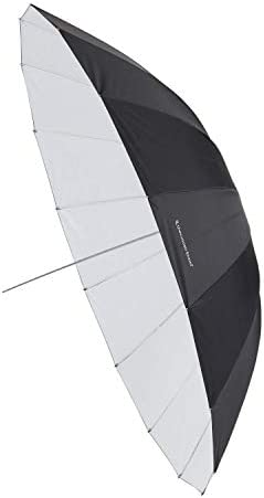 UNPLUGGED STUDIO 60inch White Umbrella 16 Fiberglass Ribs UN-009