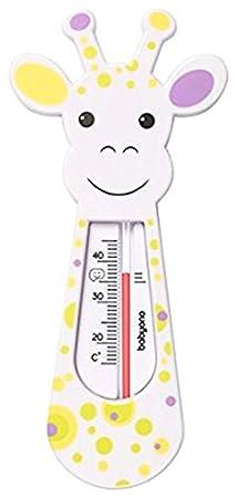 Termómetro de baño flotante para bebé, diseño de jirafa (menta) Baby Ono BA0205