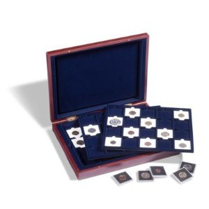 Coin Presentation Case for 60 Coins in 2x2 Holders