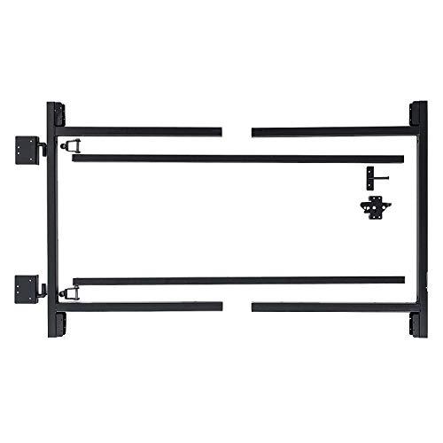 "Adjust-A-Gate Steel Frame Gate Building Kit (60""-96"" wide openings, 3' - 4' high fence)"