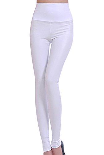 Plaer Mujer Plaer Leggings Leggings Blanco Para Mujer Para vxSqwpW58