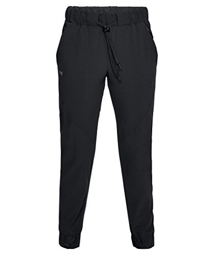 Under Armour Women's Storm Woven Pants, Black, Small