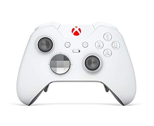 White Elite Red LED - 360 Modded Xbox Red Controller