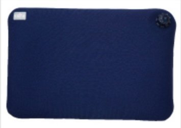 CLO'Z Yawaraka-Yutanpo Soft Hot-Water Bottle, Floor Cushion-Type (Without Hole), Navy Blue by The Cloz Company