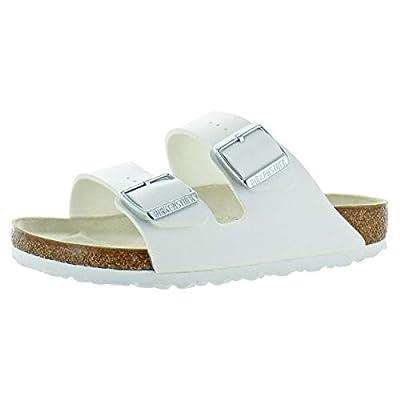 Birkenstock Unisex Arizona White Sandals - 6-6.5 B(M) US Women