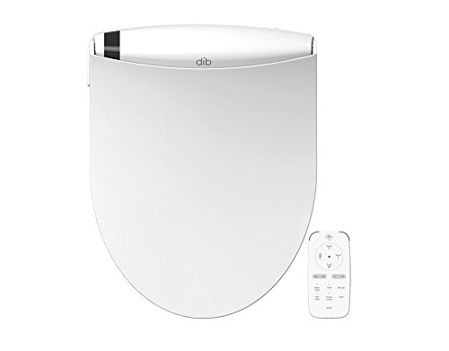 BioBidet Special Edition DIB Elongated White Electric Bidet Toilet Seat, On Demand Warm Water, Self Cleaning 3 in 1 Stainless Steel Nozzle, Wireless Remote Control, Posterior and Feminine Wash, Easy DIY Installatio, Power Save Mode is Eco Friendly by BioBidet